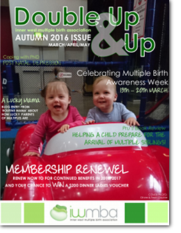 Double Up & Up Newsletter Mar-Apr-May 2016